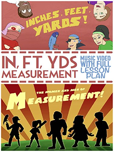 Inches, Feet, and Yards Song: Educational Measurement Video For Kids