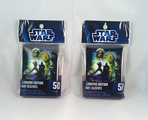 Star Wars Return of the Jedi Art Sleeves Limited Edition 100 count from Fantasy Flight