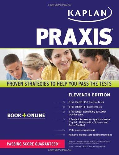 Praxis: Book + Online (Kaplan Praxis)