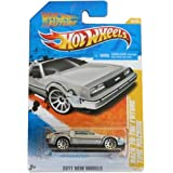 Toy / Game Hot Wheels 2011-018 New Models 18/50 Back To The Future Time Machine 1:64 Scale Collectible Die Cast