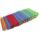 Kizmos Flex Straws, Assorted, 500 Count