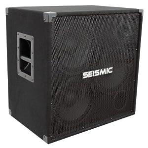 Seismic Audio - 310 Bass Guitar Speaker Cabinet PA DJ 750 Watts 3x10 3 10 by Seismic Audio Speakers, Inc.