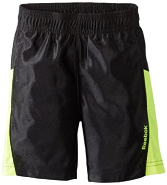 Reebok Little Boys' Dazzle Short, Black, Small
