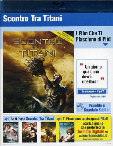Scontro tra titani [Blu-ray] [IT Import]