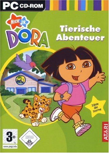 Dora-Tierische-Abenteuer-Importacin-alemana