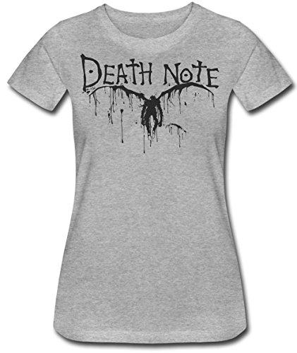 Death Note Ryuk Paint Splatter Women's T-Shirt Medium