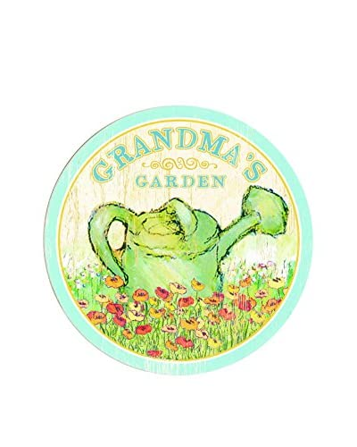 Grandma's Garden Watering Can Wood Wall Décor, Green As You See