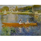 Tallenge Old Masters Collection - Boating On The Seine By Pierre-Auguste Renoir - A3 Size Premium Quality Rolled...