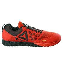 Reebok Men's Crossfit Nano 6.0 Cross-Trainer Shoe, Riot Red/Black/Pewter, 8 M US