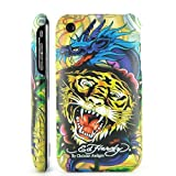 Ed Hardy iPhone 3G/3GS Designer hard back case Cover Christian Audigier Dragon/Tiger