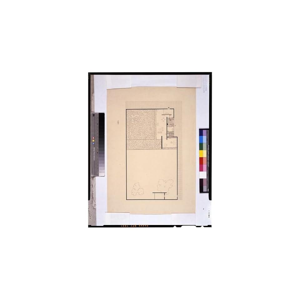 Photo House,One bedroom Court,Floor plan,layout,drawings,Howard Dearstyne,1931