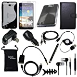 DigitalsOnDemand 14-Item Accessory Bundle for Samsung Galaxy Note 16GB (Fits both AT&T and International Versions)