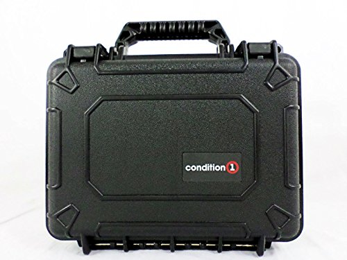 Condition 1 #312 Black Airtight/Watertight Protective Case with Pick N Pluck Foam (Condition 1 Pistol Case compare prices)