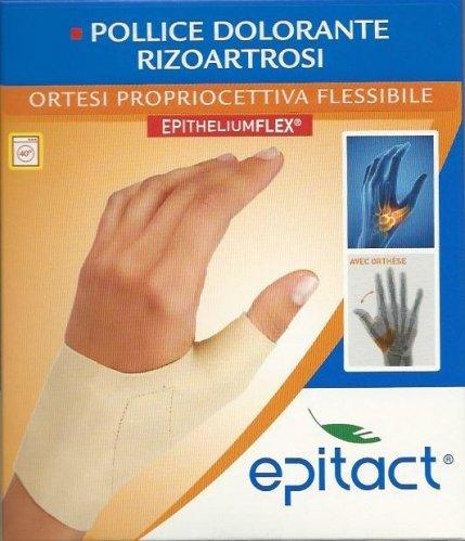 Epitact Ortesi propriocettiva flessibile - pollice dolorante rizoartrosi mano destra Taglia M da 15 a 16,9 cm