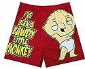 Family Guy - Stewie Bawdy Little Monkey Boxer for men