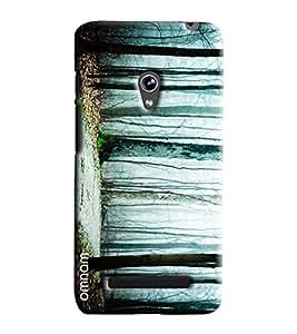 Omnam Jungle Effect Printed Designer Back Cover Case For Asus Zenfone 5