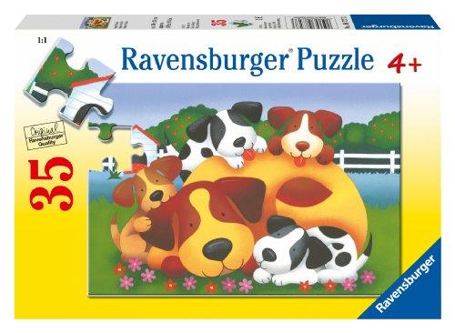 Doggie Family Puzzle, 35-Piece
