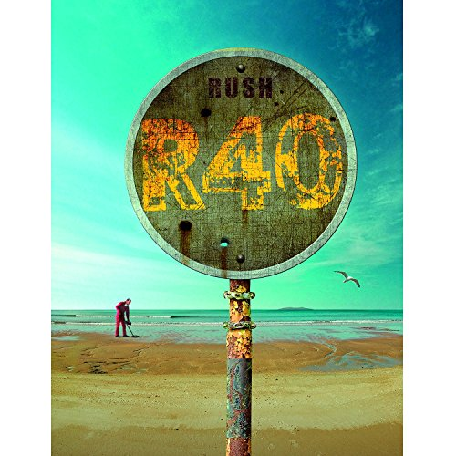Rush – R40 – 40th Anniversary Collectors Box Set (2014) 6xBD, Blu-ray 1080i AVC DTS-HD 5.1