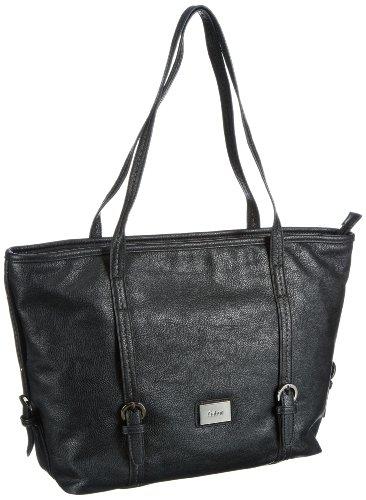 Gabor Tilda Shopper Womens Black Schwarz (schwarz 60) Size: 42x30x16 cm (B x H x T)