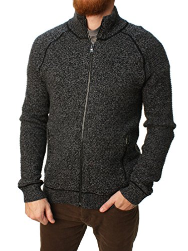 Banana-Republic-Mens-High-Mock-Neck-Full-Zip-Long-Sleeve-Knit-Sweater