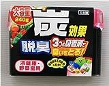 冷蔵庫・野菜室用脱臭剤ゲル240g(1個)(業務用)
