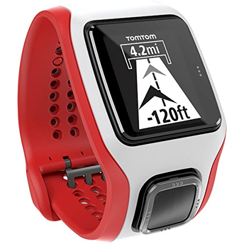 TomTom Cardio MultiSport Watch White/Red, One Size