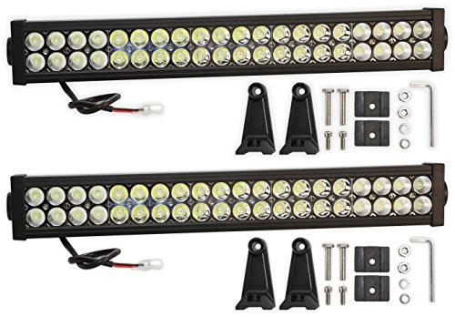 Prime Choice Auto Parts PLBAR22120APR 2x 22In 120W LED Flood Spot Combo Light Bar (2007 Chevrolet Colorado Lt Parts compare prices)