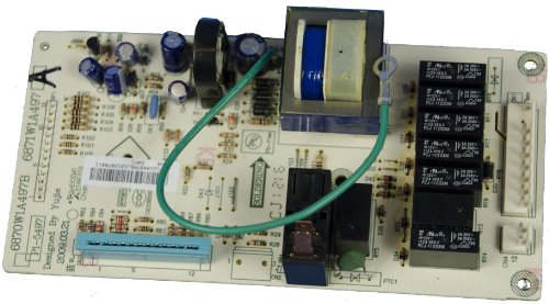 Microwave Parts List front-492621