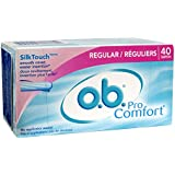 o.b. Pro Comfort Digital Tampons, Regular, 40 Count