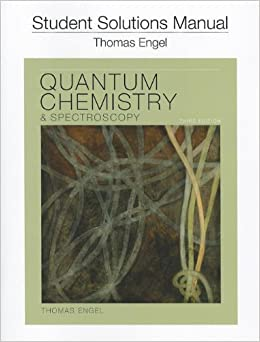 quantum chemistry and spectroscopy pdf