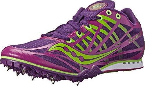 Saucony Women S Velocity Track Shoe Berry Slime