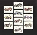 Classic American Motorcycles - Harley Davidson Heritage Softail FL, WLD, Hydra-Glide, XL Sportster, Electra-Glide, Super-Glide, Excelsior Super X, Henderson Model KJ, Indian Scout, Chief Roadmaster - Collectors Cards