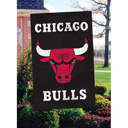 Chicago Bulls Applique Banner Flag at Amazon.com