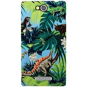 Sony Xperia C Creative Phone Cover - Matte Finish Phone Cover