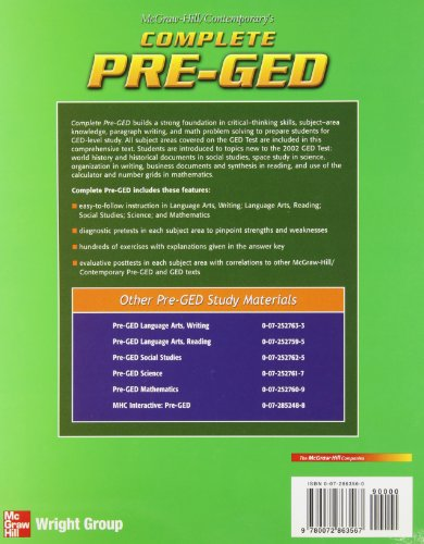 Complete Pre-ged (Ged Calculators)