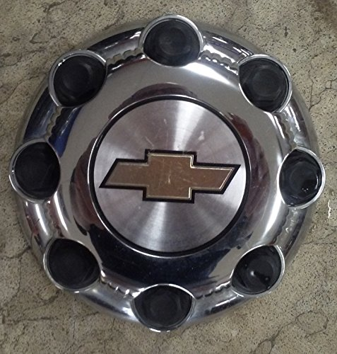 16 17 Inch OEM Chevy HD 8 Lug Chrome Plated SRW Center Cap Hubcap Wheel Cover, 1999-2014 # 9597161 9597163 5075 5198 Silverado Express Suburban 2500 3500 Truck Van Suv (Chevy 2500hd Rims And Tires compare prices)