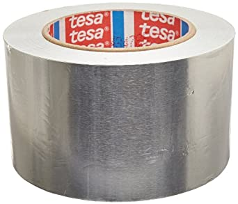 Tesa 53900 Natural Rubber Aluminum Foil Tape