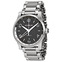Montblanc Timewalker Voyager Black Dial Stainless Steel Mens Watch 109135 from Montblanc
