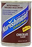 Nurishment Chocolate Flavour Milk Drink 400 g (Pack of 12)