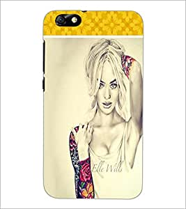 PrintDhaba Model D-1303 Back Case Cover for HUAWEI HONOR 4X (Multi-Coloured)