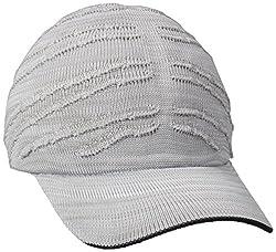 Kangol Men's Speed Knit Adj Space Cap, White, One Size