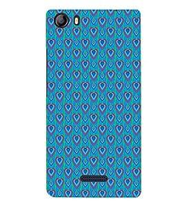 EPICCASE bluey hearts Mobile Back Case Cover For Micromax Canvas 5 E481 (Designer Case)