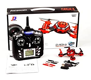 Cheerwing JXD 392 SPY Camera 2.4Ghz 4CH 6 Axis Gyro RC Quadcopter Drone with Camera LED RTF