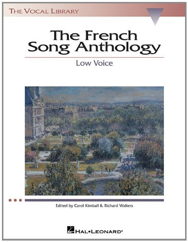 French Song Anthology: The Vocal Library, Low Voice