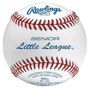 Rawlings Senior Little League Tournament Grade Baseballs (One Dozen) by Rawlings
