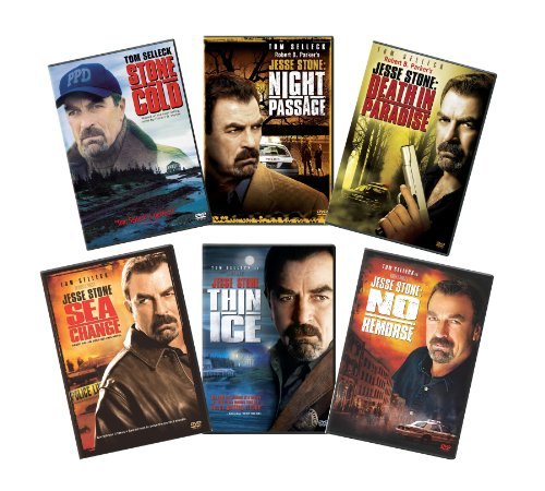 Jesse Stone Collection (no Remorse / Thin Ice / Stone Cold / Sea Change / Night Passage / Death In Paradise) Picture