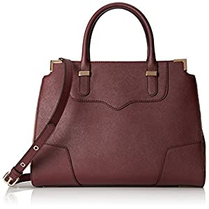 Rebecca Minkoff Amorous Satchel Handbag, Black Cherry, One Size