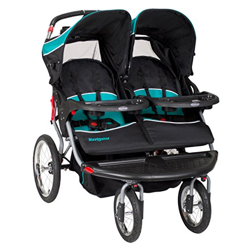 Baby-Trend-Navigator-Double-Jogger-Stroller-Tropic