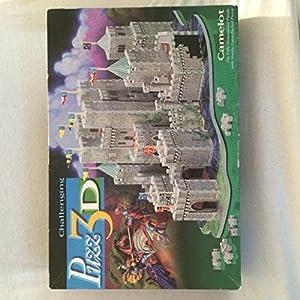 Amazon.com: Puzz 3D Puzzle CAMELOT 620 pieces: Toys & Games
