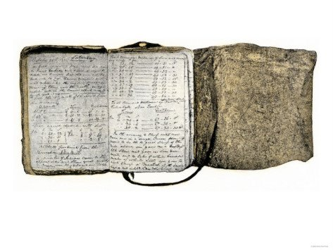 Diary Kept by William Clark of the Lewis and Clark Expedition, c.1804-1806